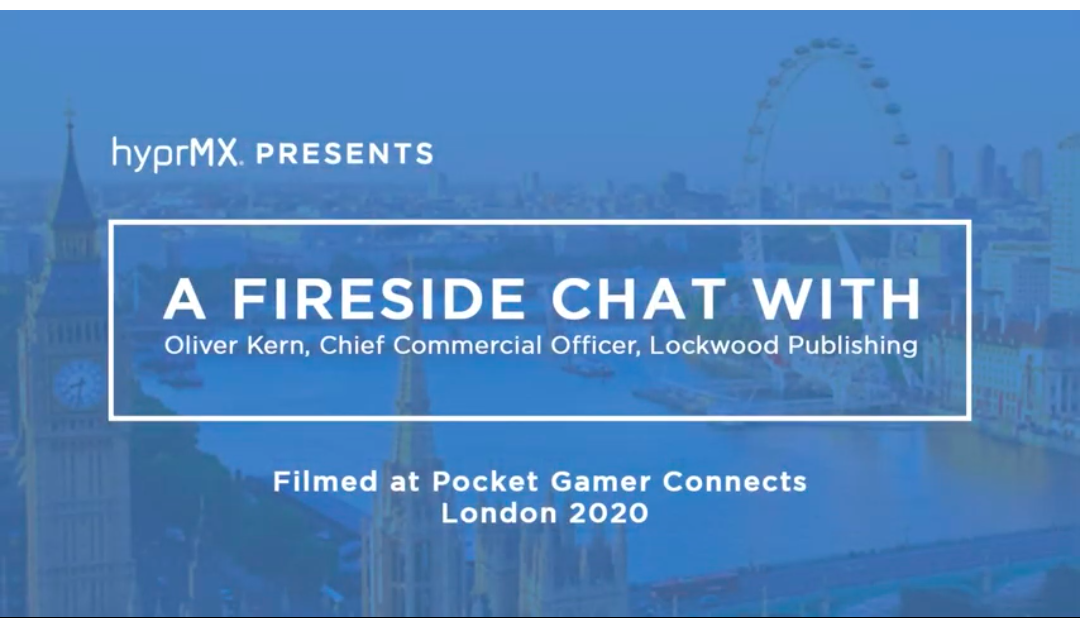 PGC LONDON January 2020 | In Game Advertising – fireside chat with HyprMX